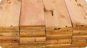 Cedar wood for home projects