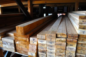 cedar lumber and boards available in the greater Cleveland area