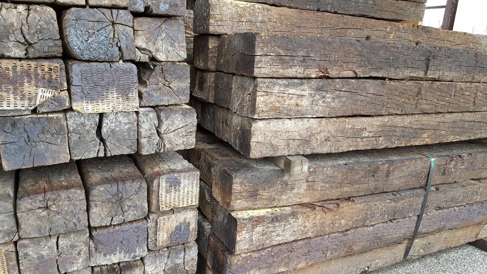 Landscaping Timbers and railroad ties