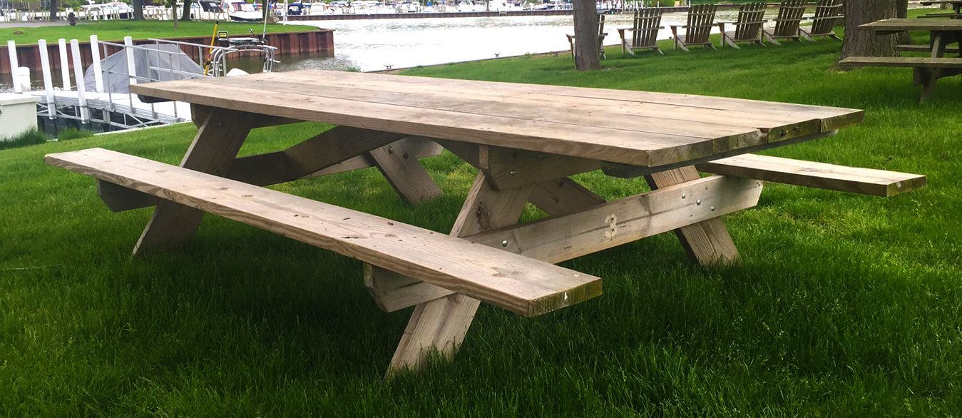 Pressure Treated Wood Picnic Tables West End Lumber