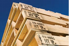 HEAT TREATED LUMBER For International Shipping Certification Stamp