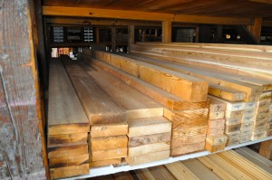 Choose from many sizes and lengths of Cedar Boards