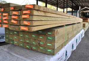 Pressure Treated lumber